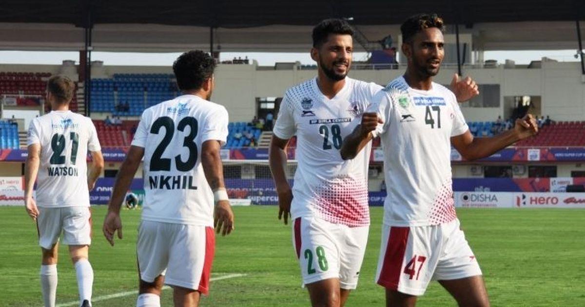 Mohun Bagan beat Shillong Lajong 3-1 to reach Super Cup semi-finals