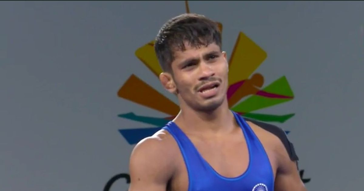 CWG 2018: Rahul Aware bags gold, Babita silver in wrestling competition