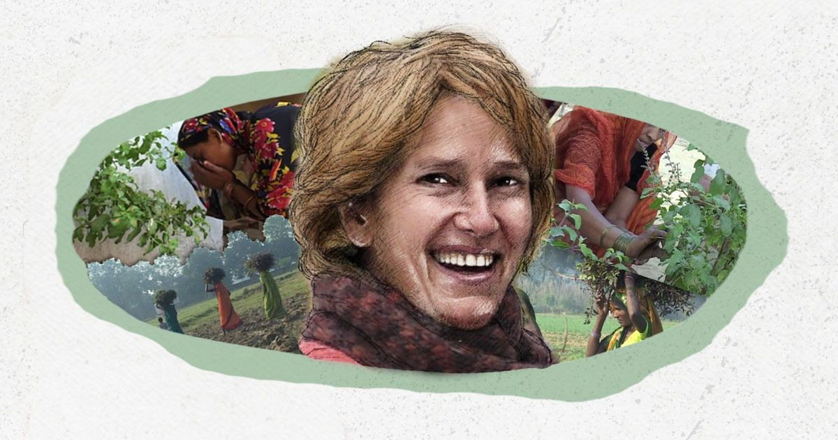 Meet the British woman who's preaching the benefits of tulsi to the world