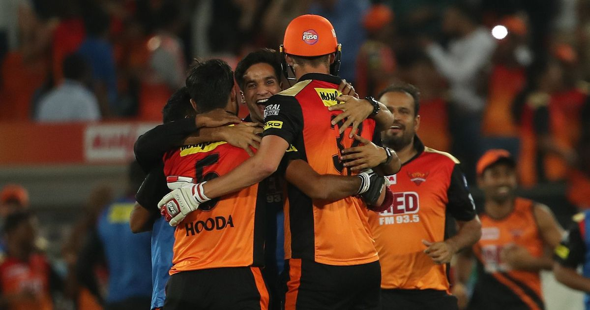 आईपीएल 2018 : मुंबई इंडियंस पर सनराइजर्स हैदराबाद की रोमांचक जीत