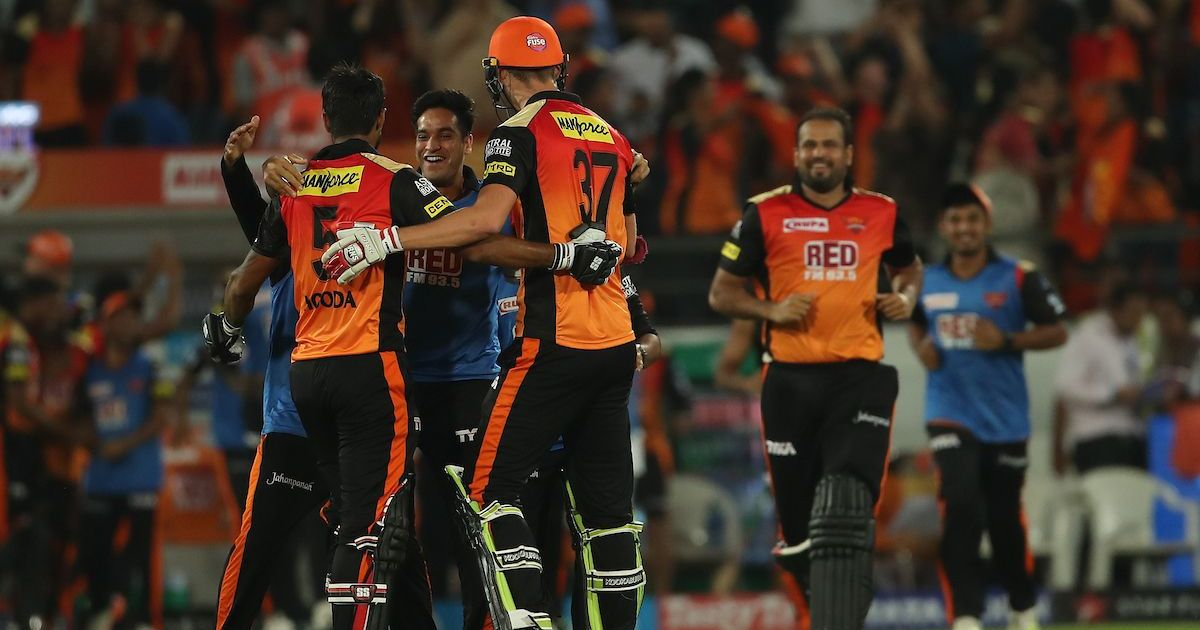 IPL 11: Sunrisers Hyderabad hold their nerve to pip Mumbai Indians in last-ball thriller