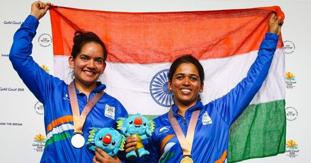 CWG 2018 shooting: Tejaswini Sawant, Anjum Moudgil clinch gold, silver in 50m rifle 3-position
