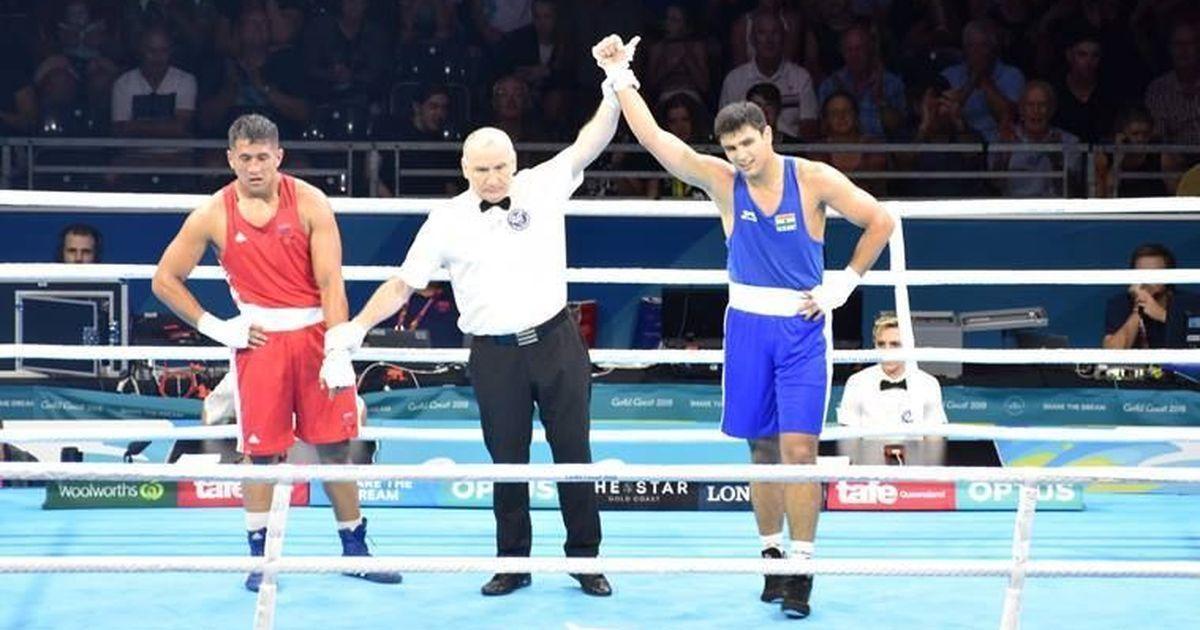 कॉमनवेल्थ गेम्स : नमन तंवर ने कांस्य जीता, बॉक्सिंग में भारत के दो पदक और पक्के हुए
