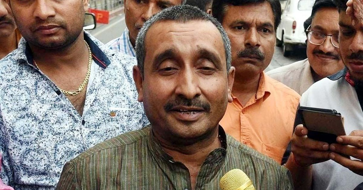 Unnao rape-accused MLA Sengar gets prime spot in Independence Day ad, beside Modi and Adityanath