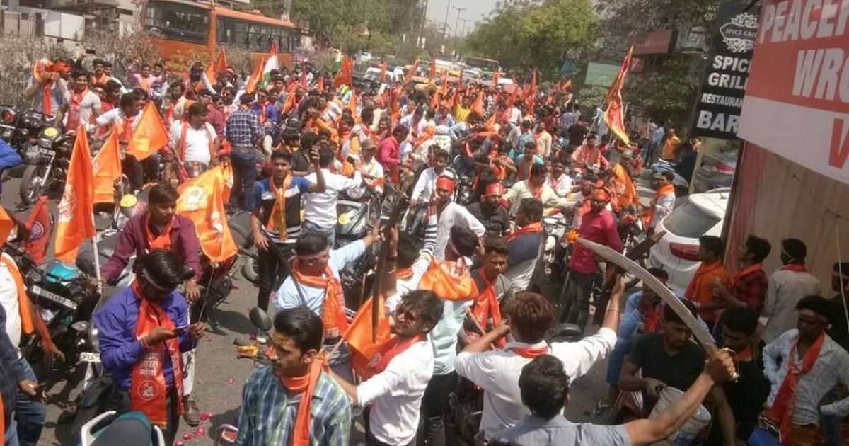 Meet the Hindutva group at the centre of Delhi police probe into hooliganism outside mosques