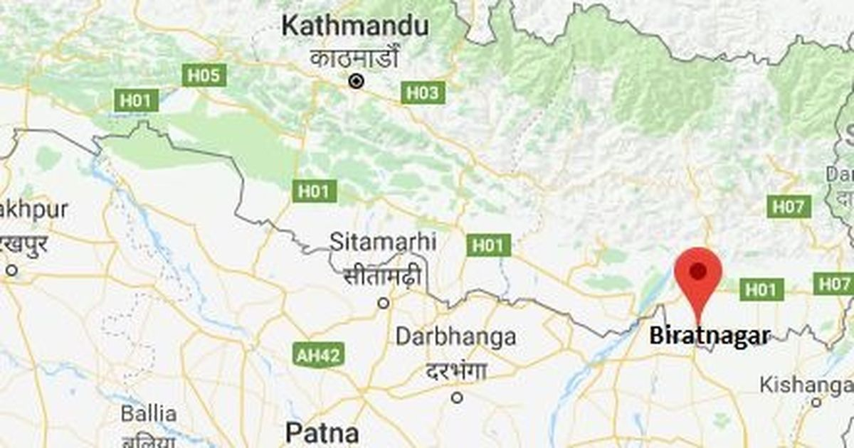 Blast near Indian Embassy in Kathmandu