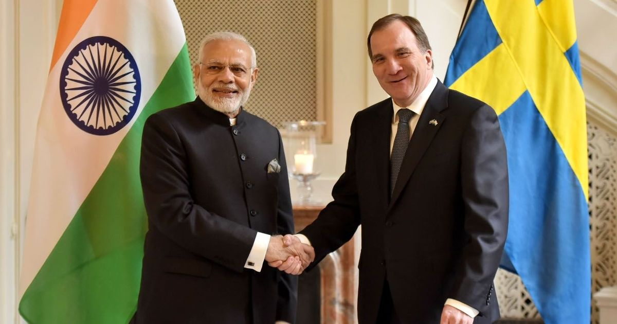India and Sweden announce partnership on cyber security, Modi meets Swedish CEOs