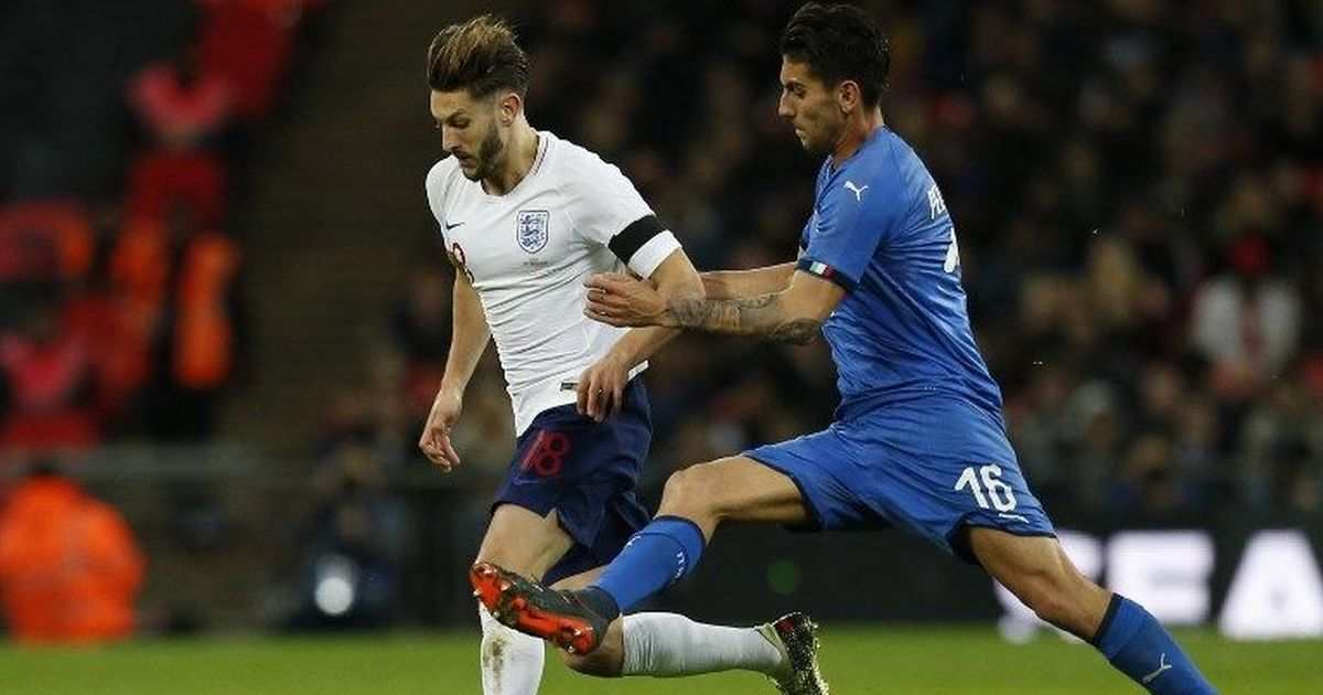 Liverpool's Adam Lallana in Cape Town for hamstring rehab