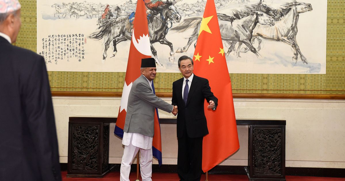 Beijing wants India-Nepal-China economic corridor