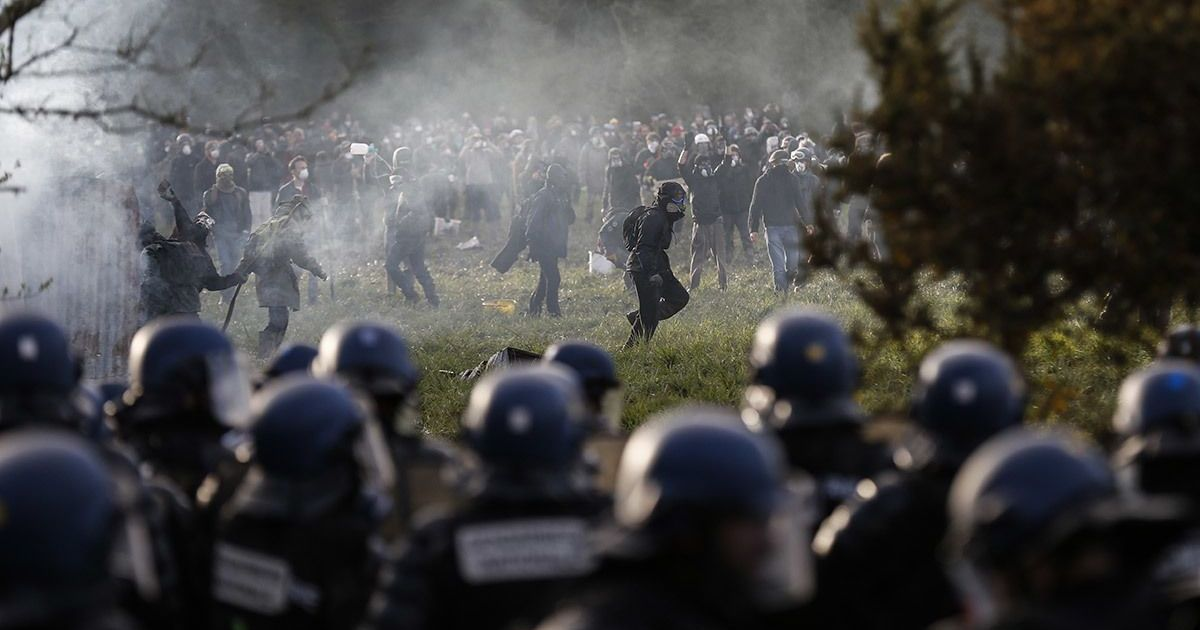 Macron's mercenaries: The French president is pushing neoliberal 'reform' through police force