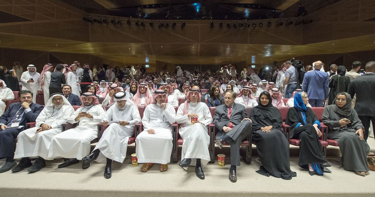 Cinemas open in Saudi Arabia for the first time in 35 years with 'Black Panther' screening