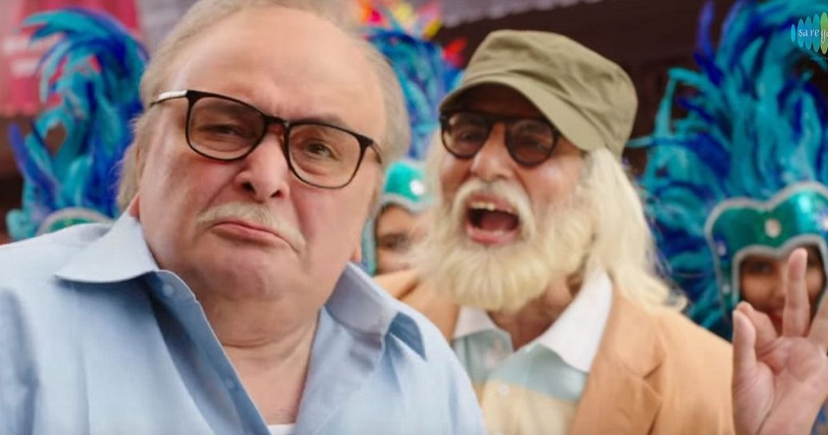 Watch: Amitabh Bachchan asks Rishi Kapoor to seize the day in 'Badumbaa' from '102 Not Out'