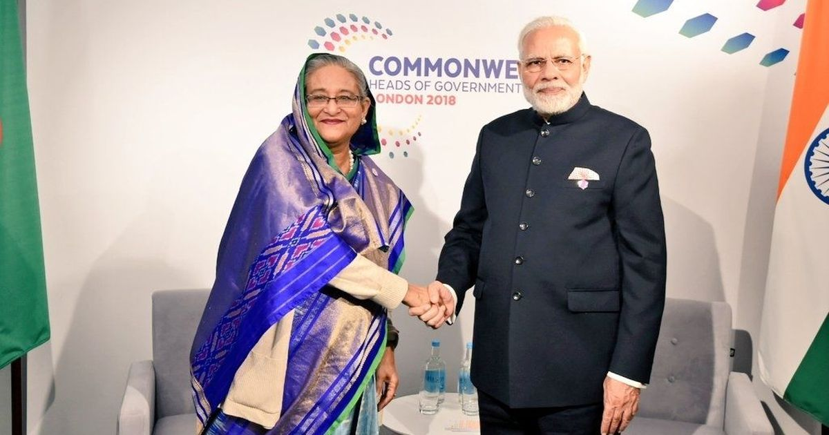 Narendra Modi meets leaders of Australia, Bangladesh on the sidelines of Commonwealth summit