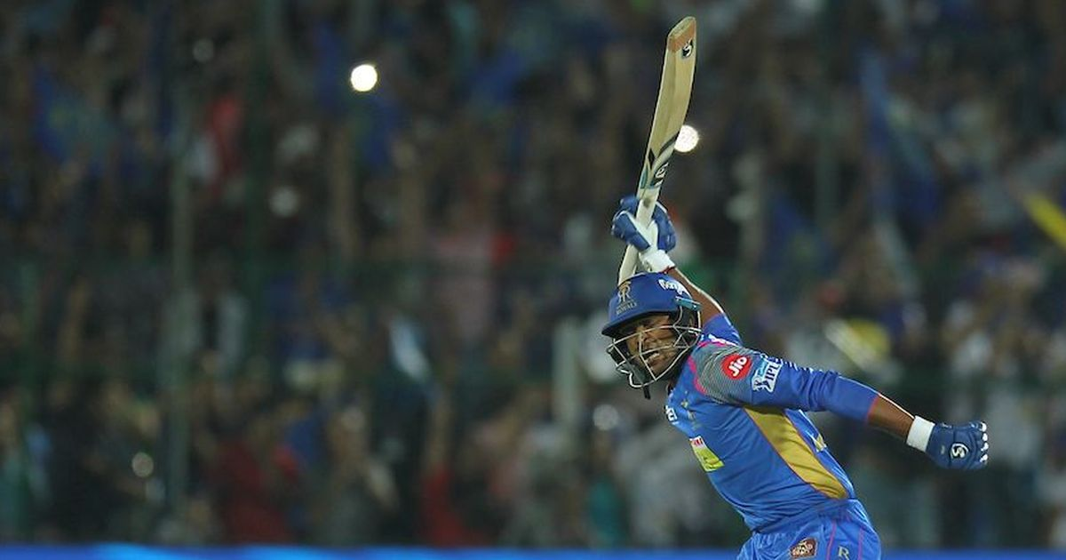 K Gowtham steals victory from the jaws of defeat as RR hand MI another last-over loss