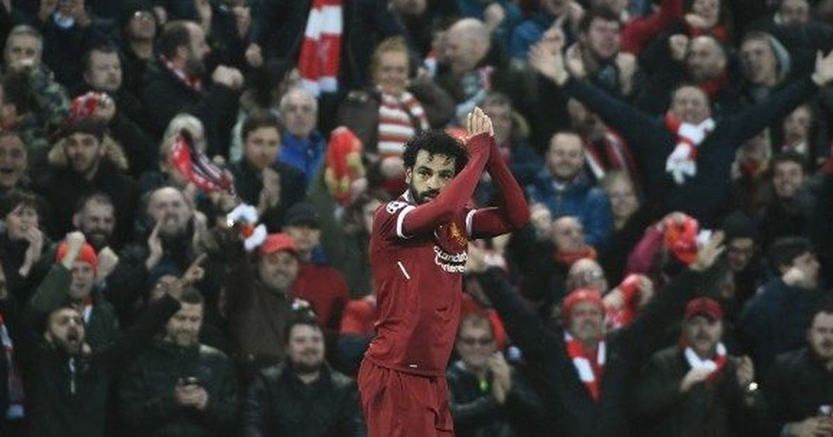 'Genius' Mohamed Salah takes Liverpool on the brink of Champions League final