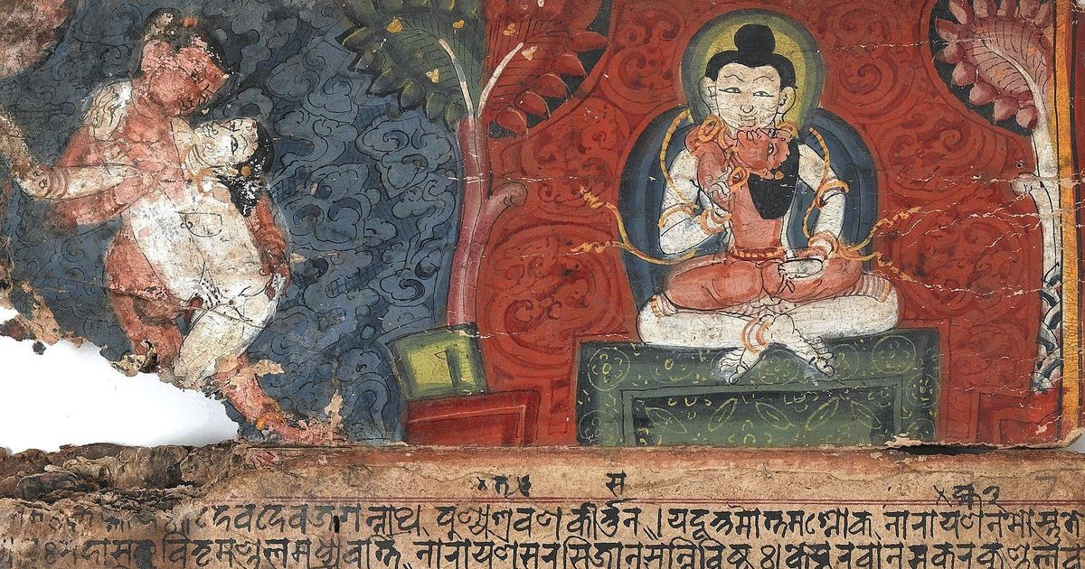 This Tibetan monk visited India in 1934 and wrote a book about sex that rivals the 'Kama Sutra'