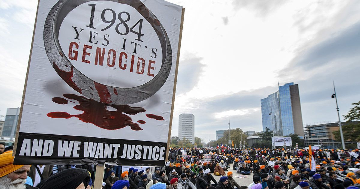 Headlines First Death Sentence Given In 1984 Anti Sikh Riots Case