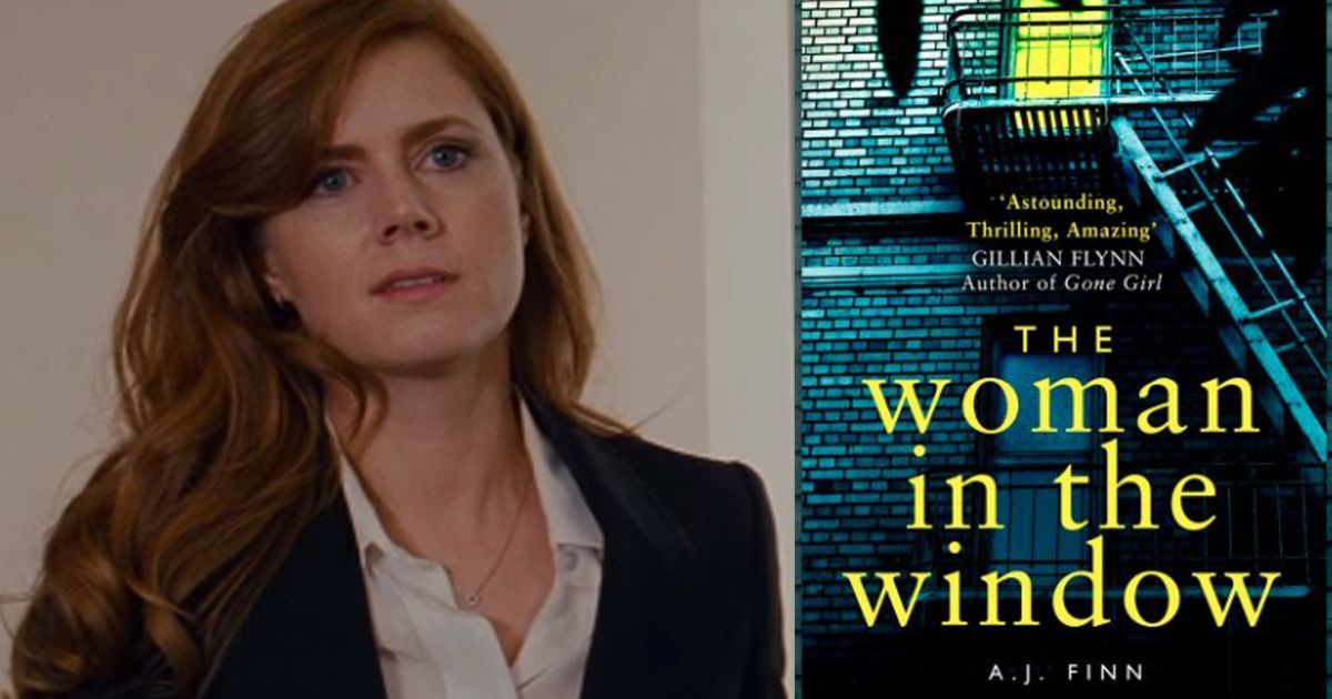 Amy Adams to star in movie adaptation of AJ Finn's 'The Woman in the Window'