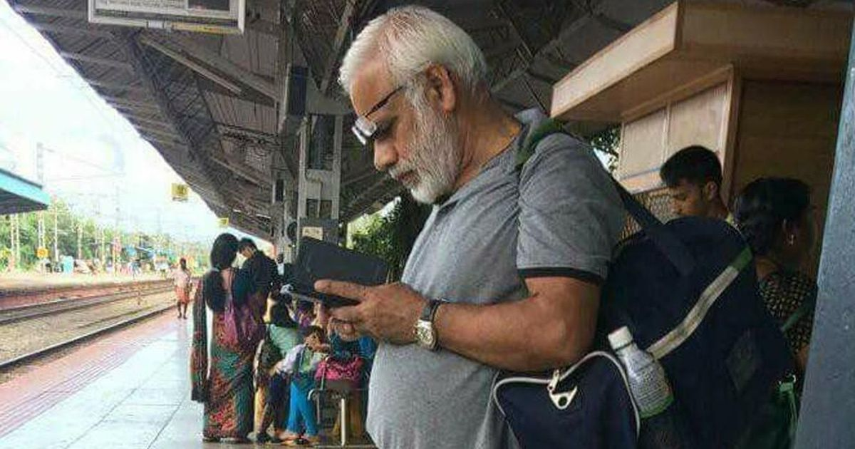 The man who broke the internet for his resemblance to Modi cast in demonetisation film
