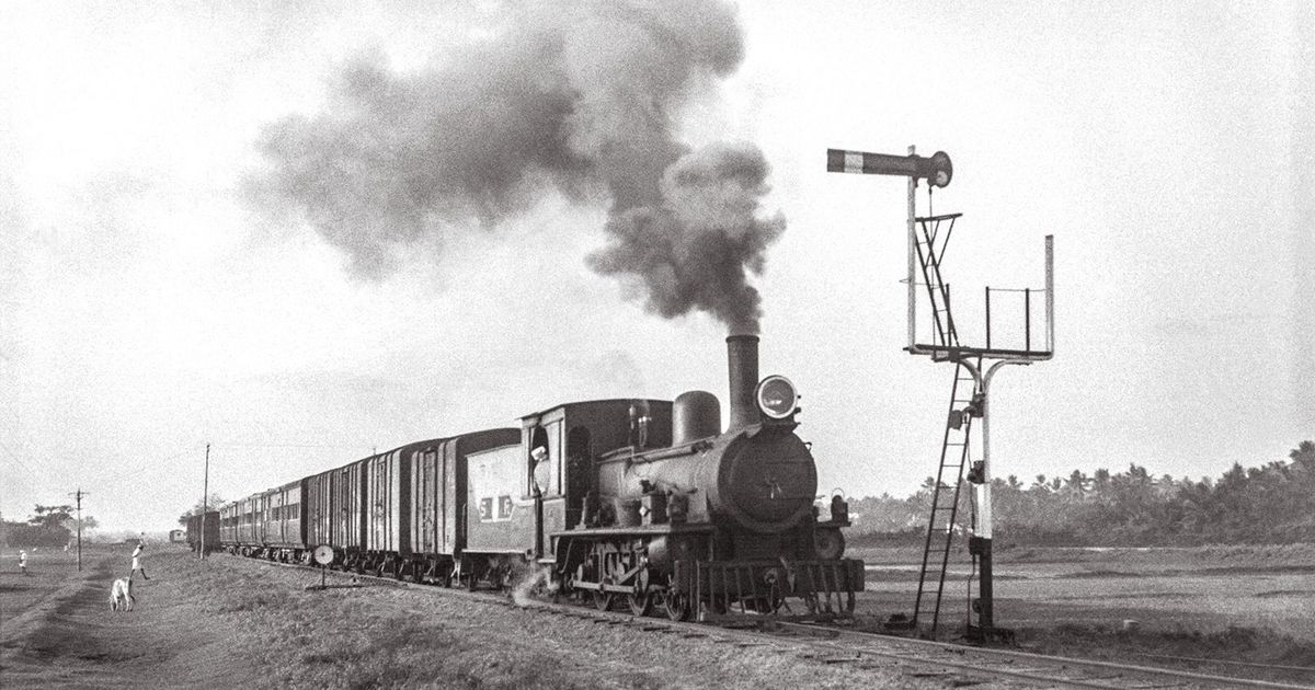An Australian trainspotter's images from the 1960s could rewrite steam engine history in India