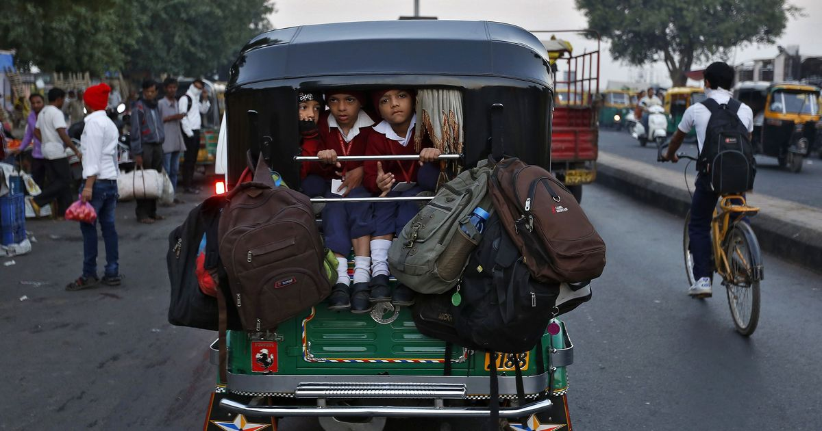 6869a60c73 UP school van tragedy reflects how India s children go to class – and  parents must share the blame
