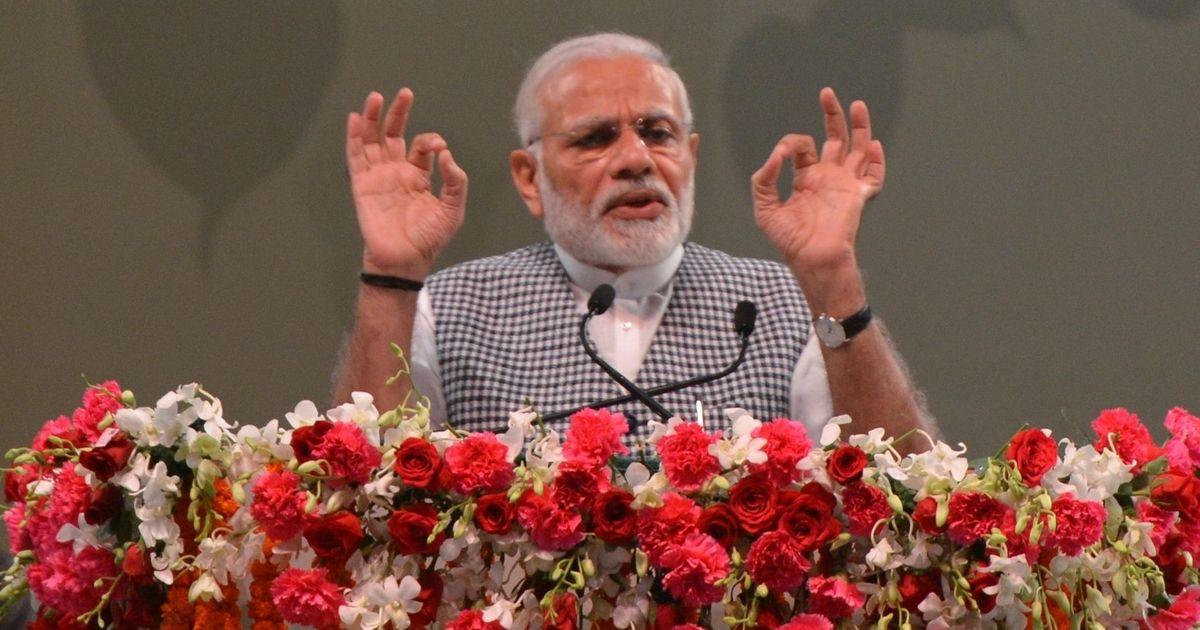 राहुल गांधी की प्रधानमंत्री पद के लिए दावेदारी उनका अहंकार है : नरेंद्र मोदी