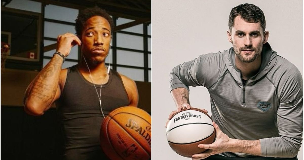 Raptors' DeRozan, Cavs' Love team up for mental health awareness PSA