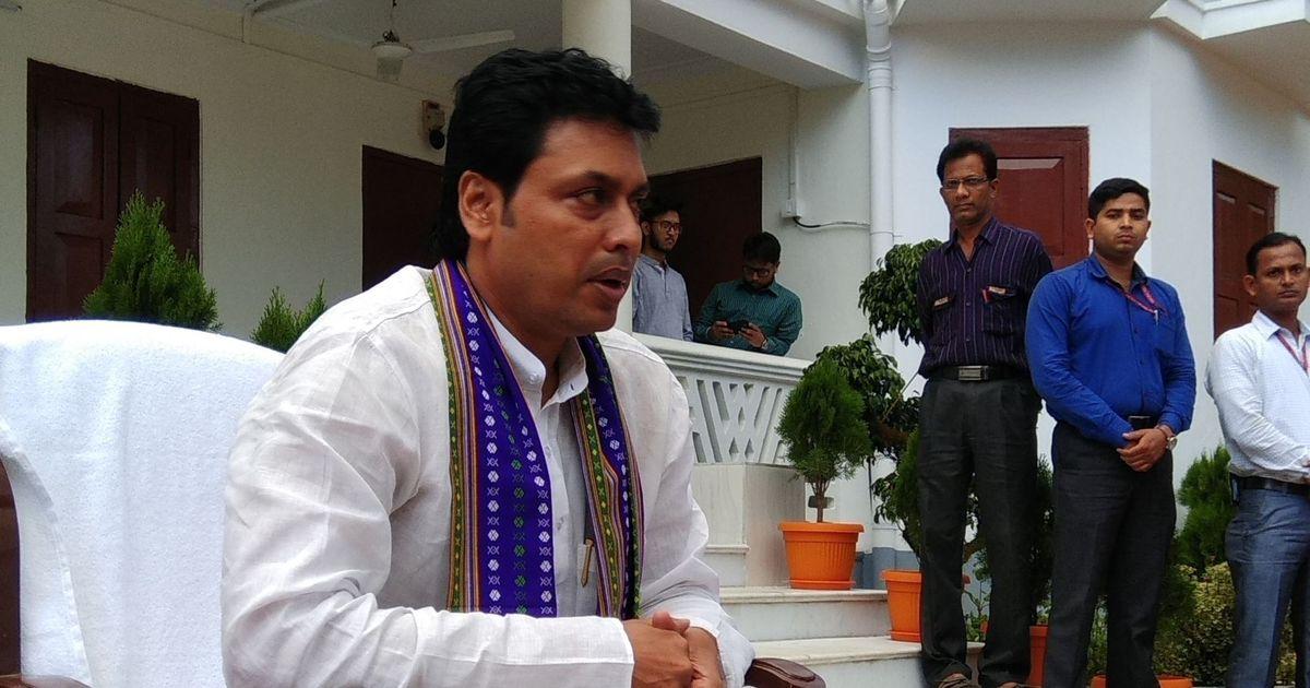 त्रिपुरा के स्कूलों में एनसीईआरटी का पाठ्यक्रम लागू किया जाएगा : बिप्लब कुमार देब