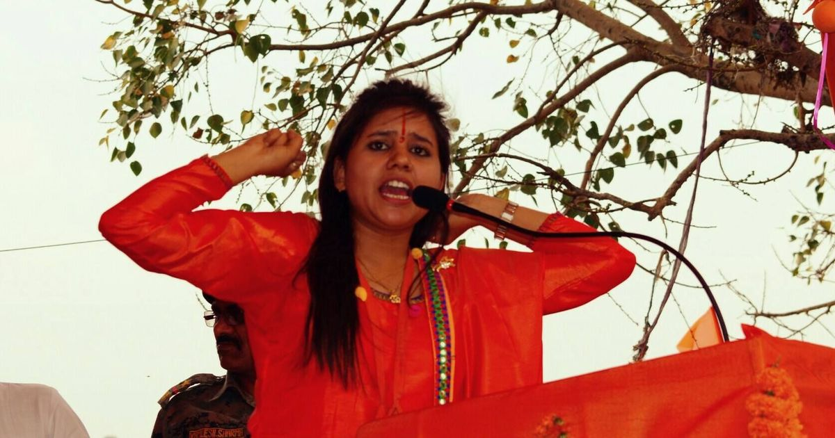 Case registered against VHP leader Sadhvi Balika Saraswati for inflammatory speech