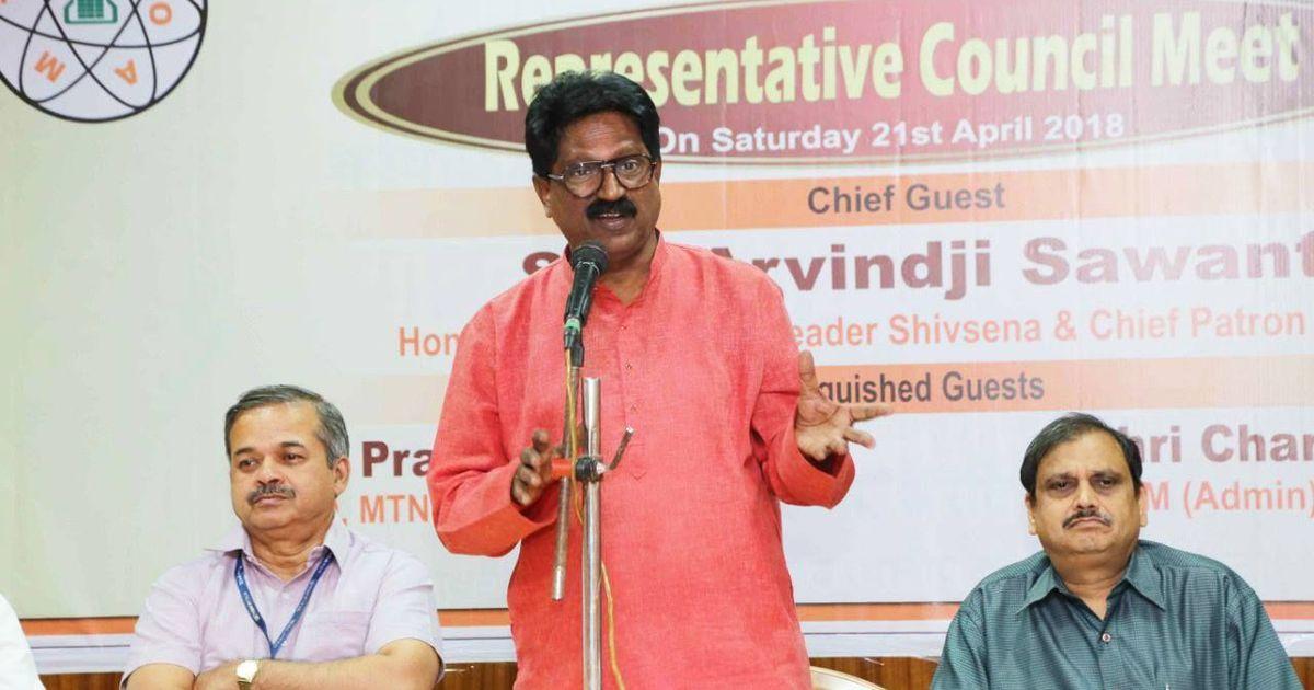 शिवसेना का एनडीए से बाहर होना तय, केंद्र में पार्टी के इकलौते मंत्री अरविंद सावंत का इस्तीफा