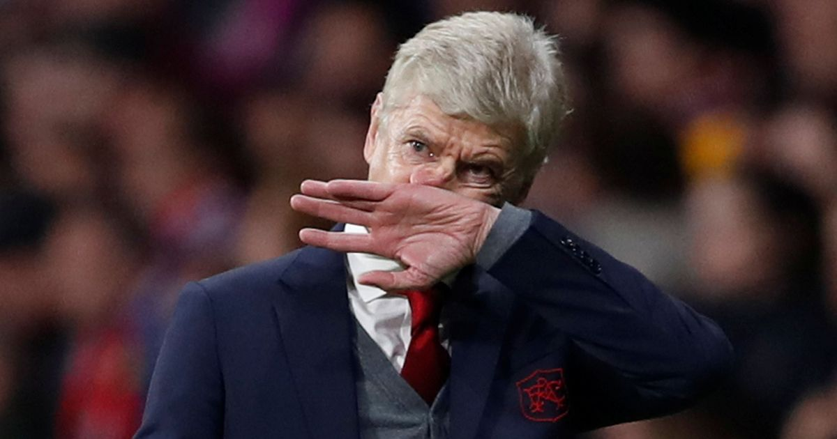 No fairytale for Wenger Twitter divided as Arsenal manager's last European game ends in 1-0 loss