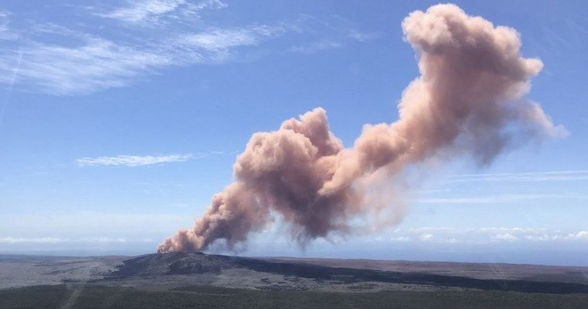 Hawaii: Thousands asked to evacuate as Kilauea volcano erupts