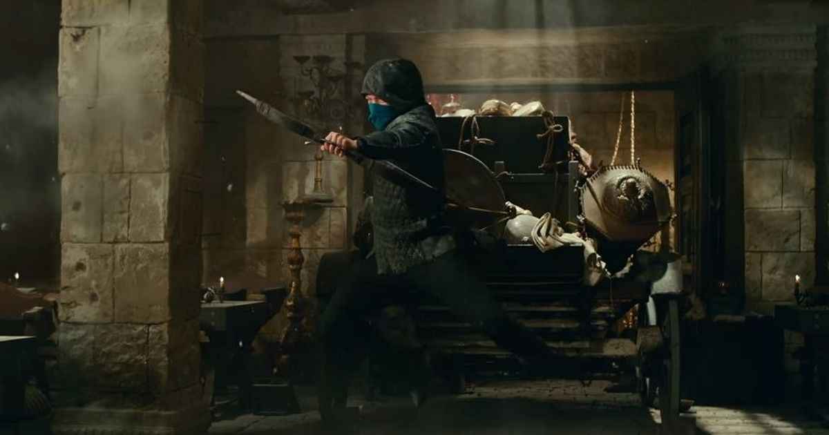 'Robin Hood' trailer: Taron Egerton takes aim as the legendary outlaw