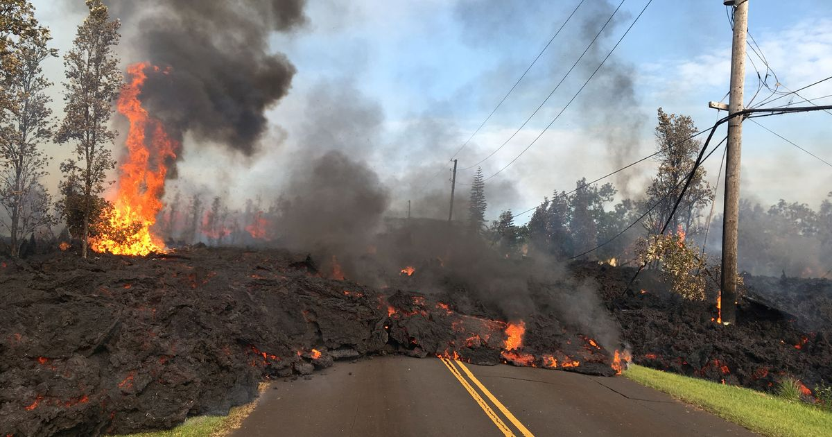 Hawaii: Kilauea spews more lava after 6.9-magnitude earthquake, thousands flee homes