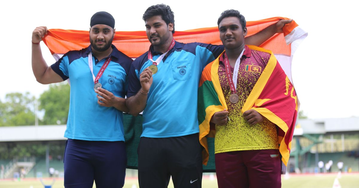 India finish on top with 20 gold medals at South Asian Junior Athletics  Championships