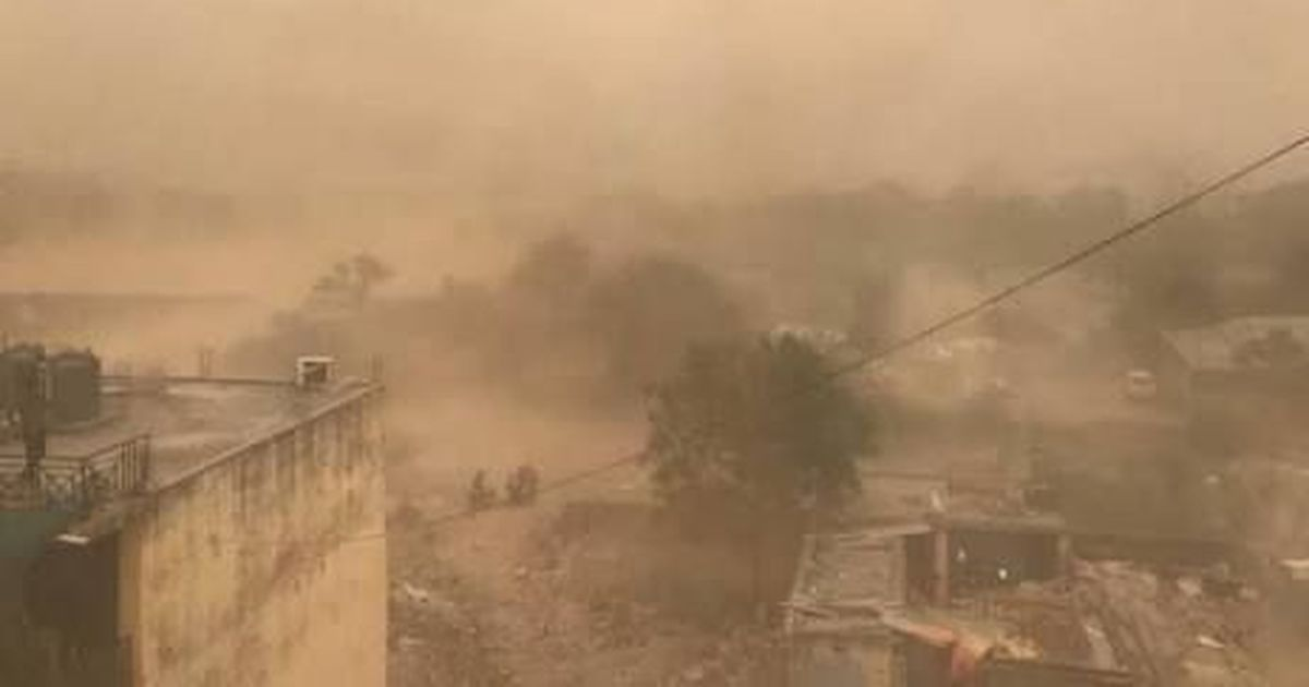 Image result for wind and dust in tamil nadu
