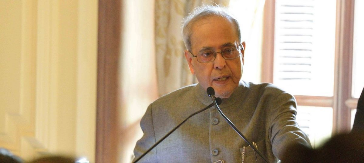 For God's sake, do your jobs: President Pranab Mukherjee tells parliamentarians