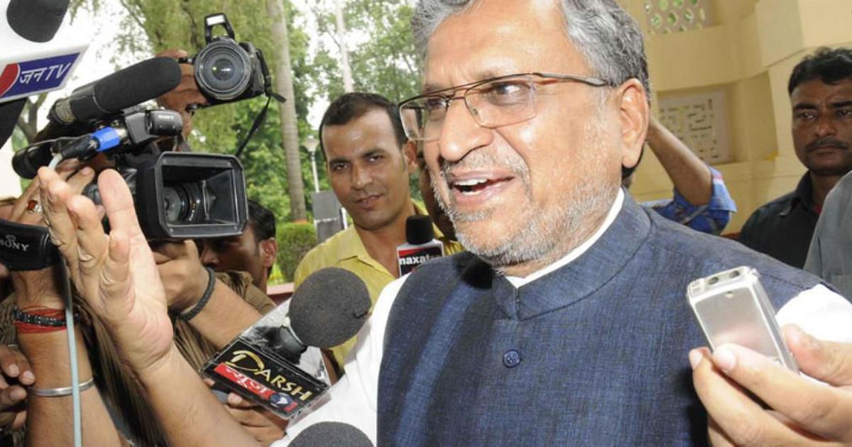 क्या कर्नाटक चुनाव हारने के बाद भी राहुल गांधी मंदिर जाएंगे : सुशील मोदी