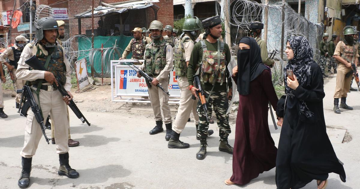 Kashmir Valley observes complete shutdown in protest against Independence Day celebrations