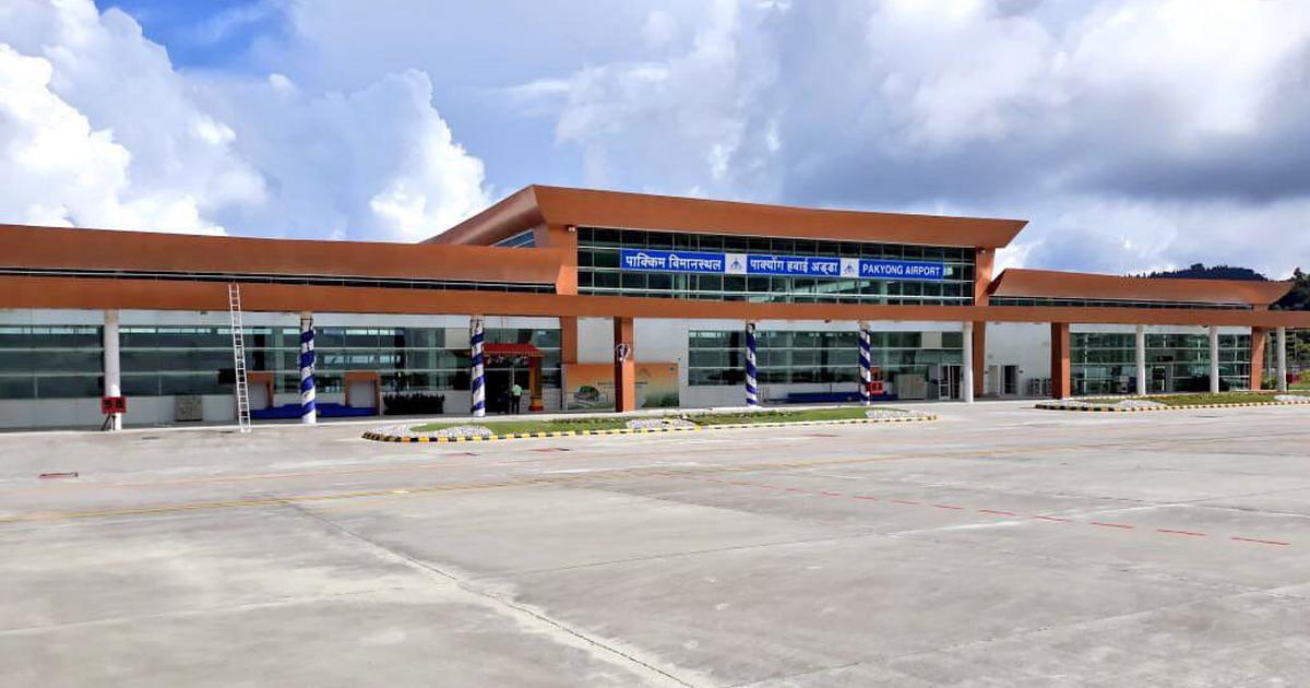 Narendra Modi inaugurates Sikkim's first airport at Pakyong
