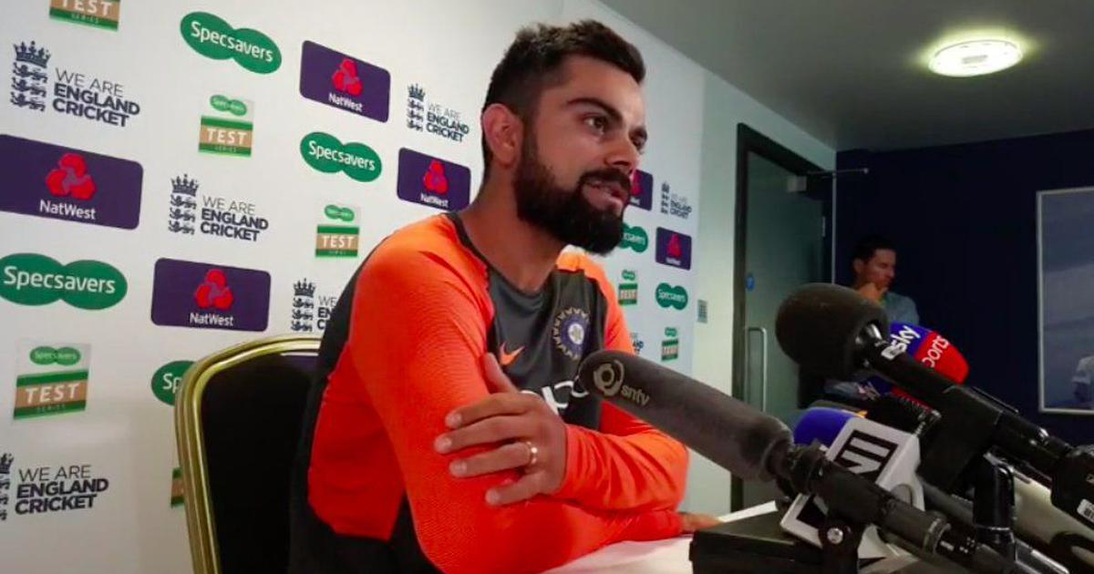 Fielding two spinners is definitely in contention, says Kohli ahead of second Test