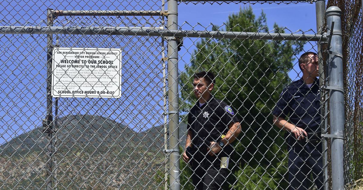 California: Man opens fire in San Bernardino school, kills wife, a student and then himself