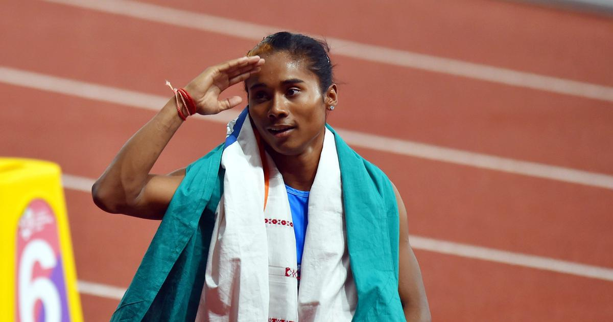 World Athletics C'ships: Hima Das included in women's relay team as AFI name 25-member Indian squad