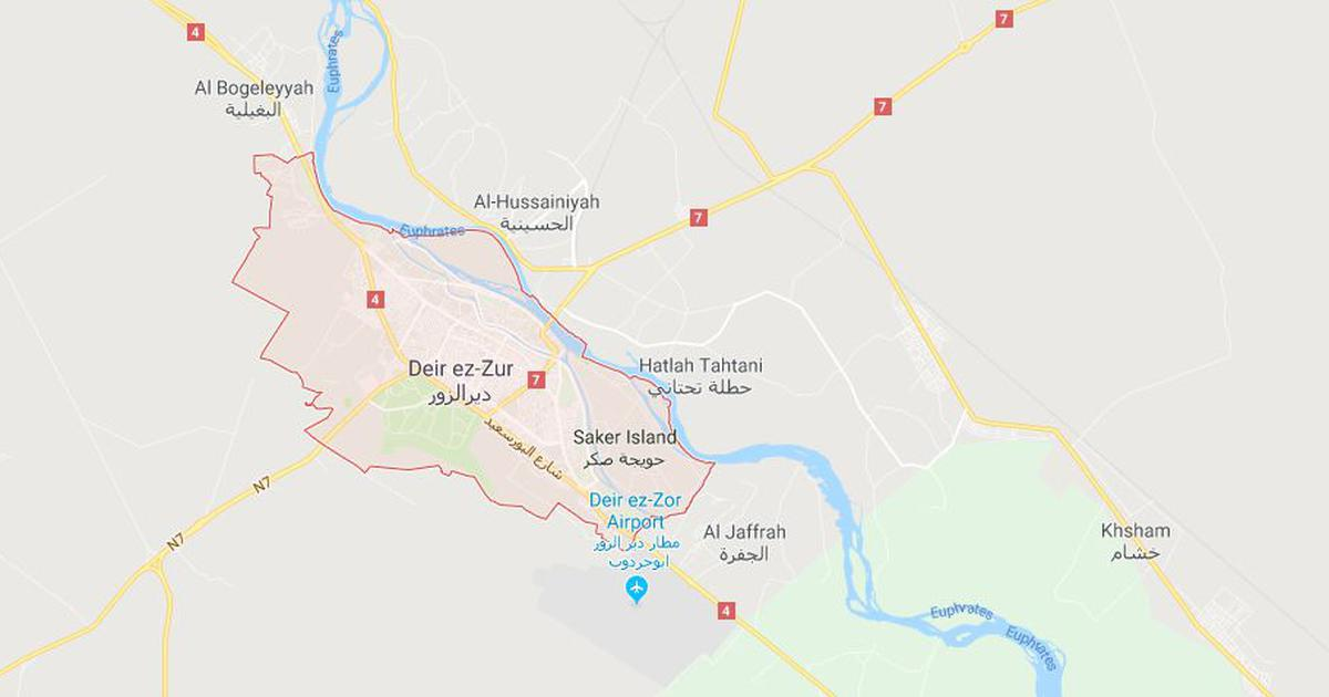 Syria: 28 civilians killed in air strike in eastern province of Deir Ezzor, says war monitor