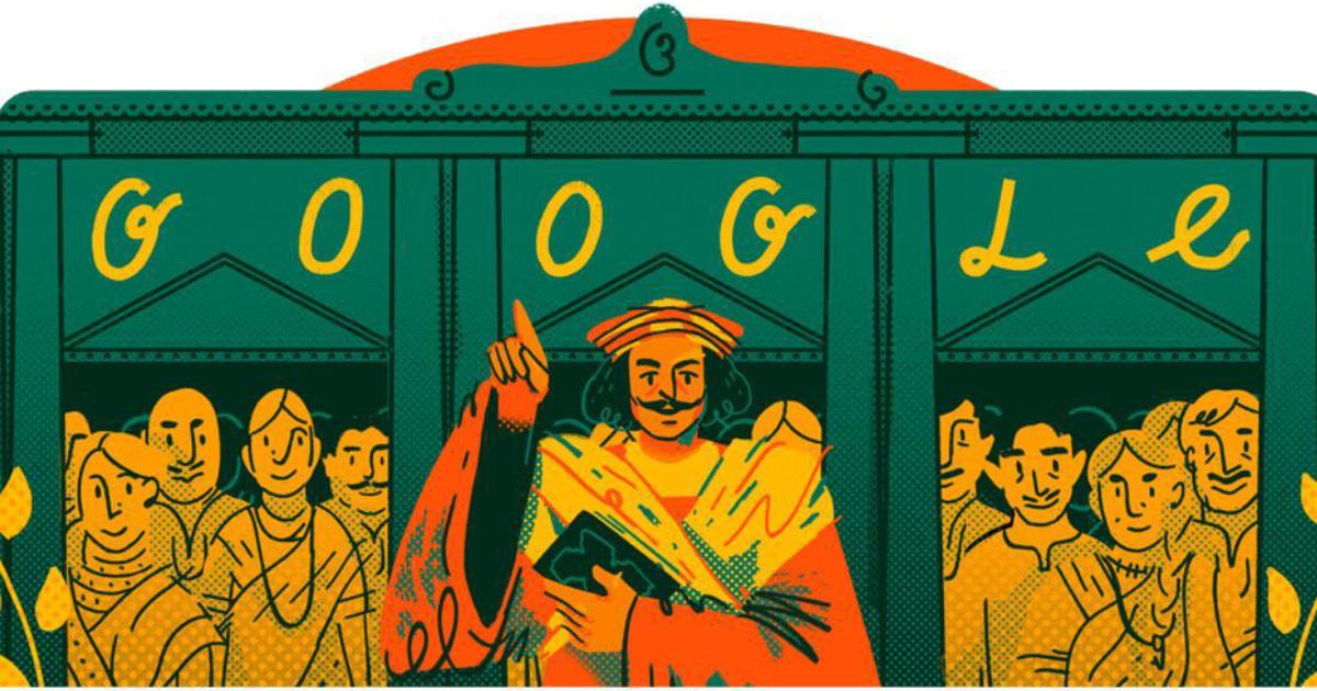 Google Doodle celebrates 246th birth anniversary of Raja Ram Mohan Roy