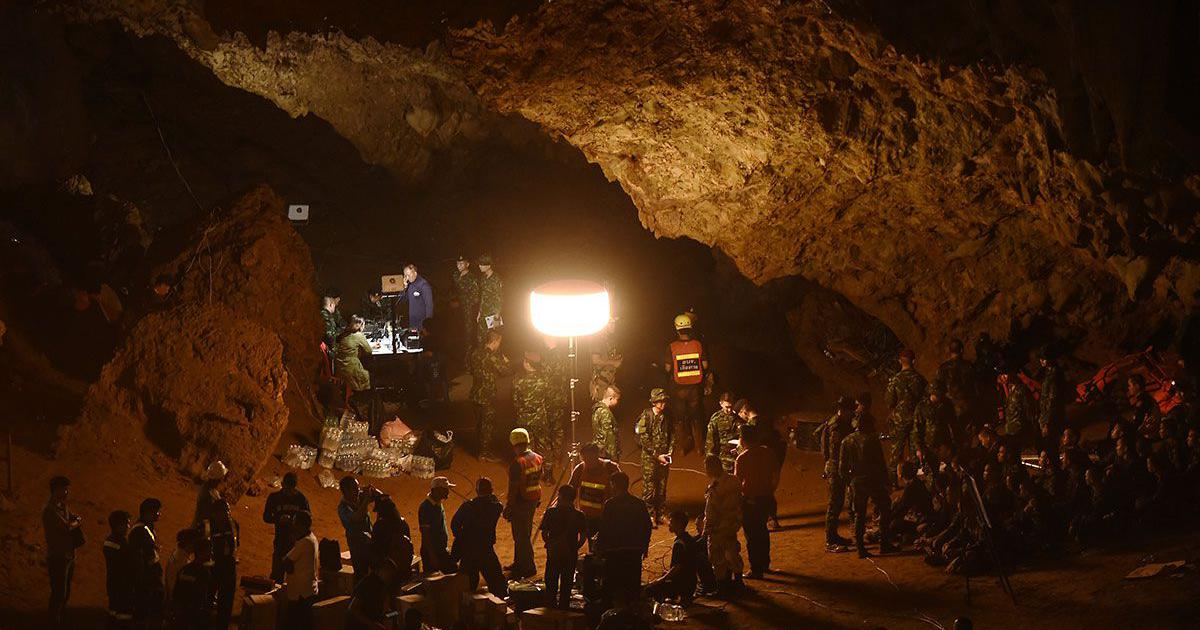 Film based on Thai cave rescue operation in the works