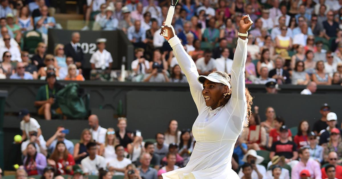 'That's what makes me great – I always play everyone at their greatest,' says Serena Williams