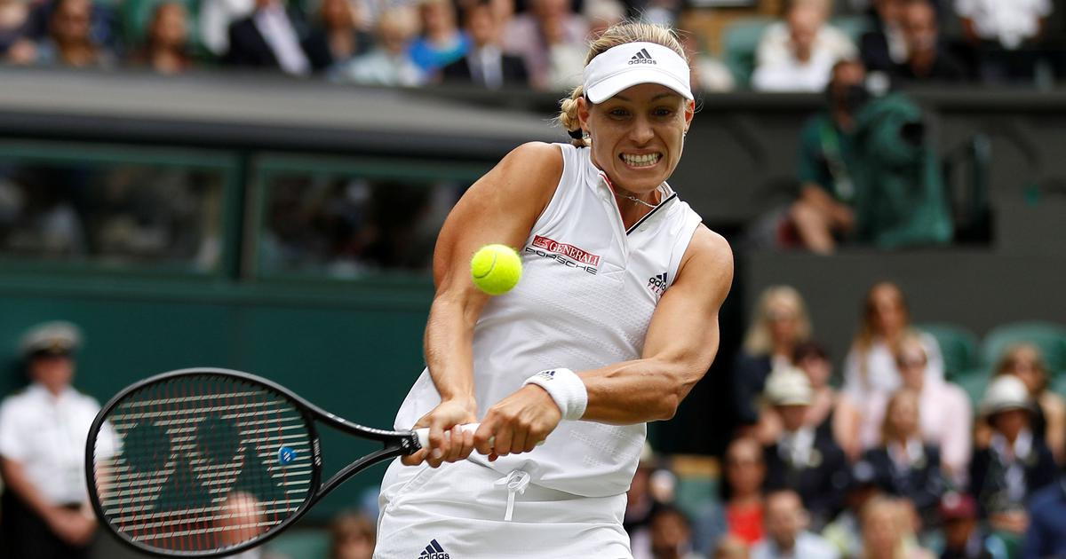 Kerber, highest seed left in the draw, downs Kasatkina to reach third Wimbledon semis