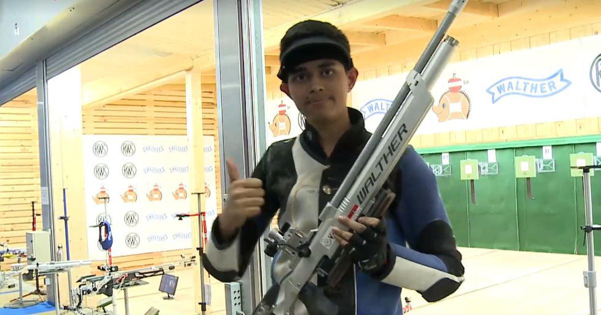 Shooting World Championships: Hriday Hazarika wins junior men's 10m air rifle gold