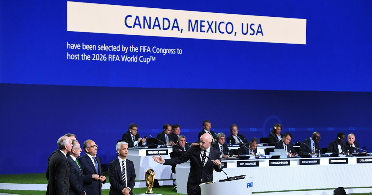 Canada, Mexico and United States win rights to host 2026 Fifa World Cup